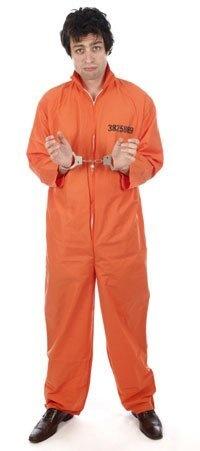 orange convict prisoner hannibal overalls jumpsuit new one size adult mens fancy dress costume , http://www.amazon.co.uk/dp/B001KX8WXI/ref=cm_sw_r_pi_dp_qVNFrb0F6ZSQK