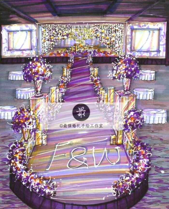 婚礼手绘课程咨询微信:22664008