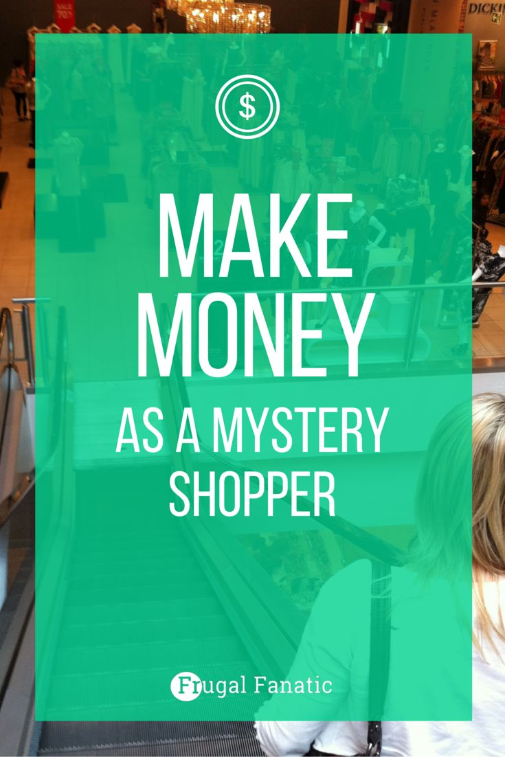 Making Extra Money As A Mystery Shopper