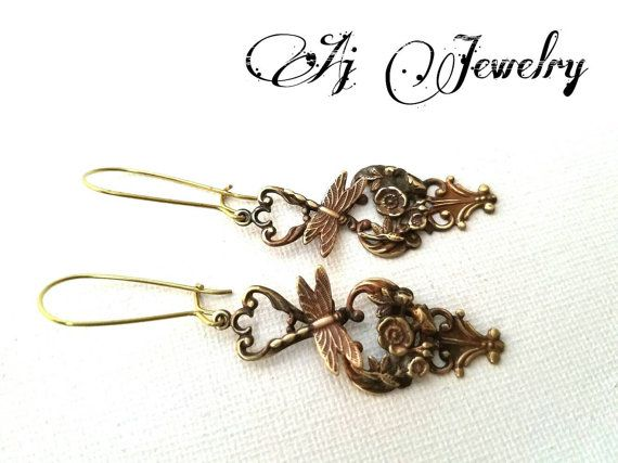Check out this item in my Etsy shop https://www.etsy.com/listing/493520801/sparrow-turquoise-earrings #ajjewelry #jewelry #earring #dragonfly