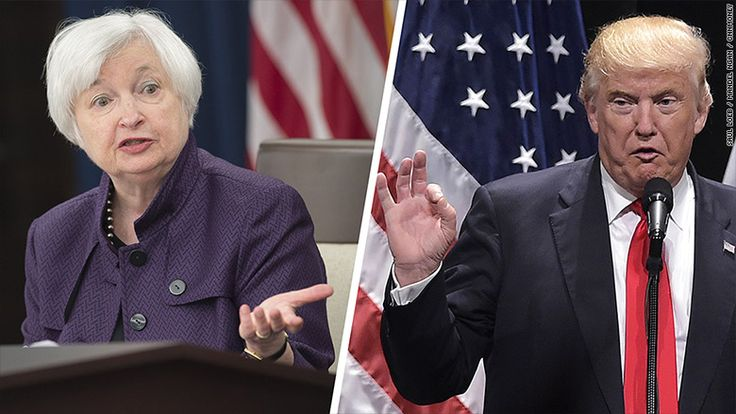 Yellen had a chance to respond to criticism from the president-elect when she holds a press conference following the Federal Reserve's interest rate decision Wednesday. The Fed raised rates for the first time in a year. In fact, Trump could drastically shake up the Fed's Board of Governors over the next few years. There are currently two vacancies on the board, which helps to set short-term interest rates and also has a role supervising the nation's banks