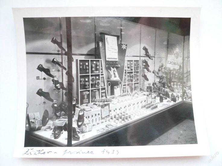 VÝLOHA prodejny BAŤA Žižkov, prosinec 1939 !!! č.1