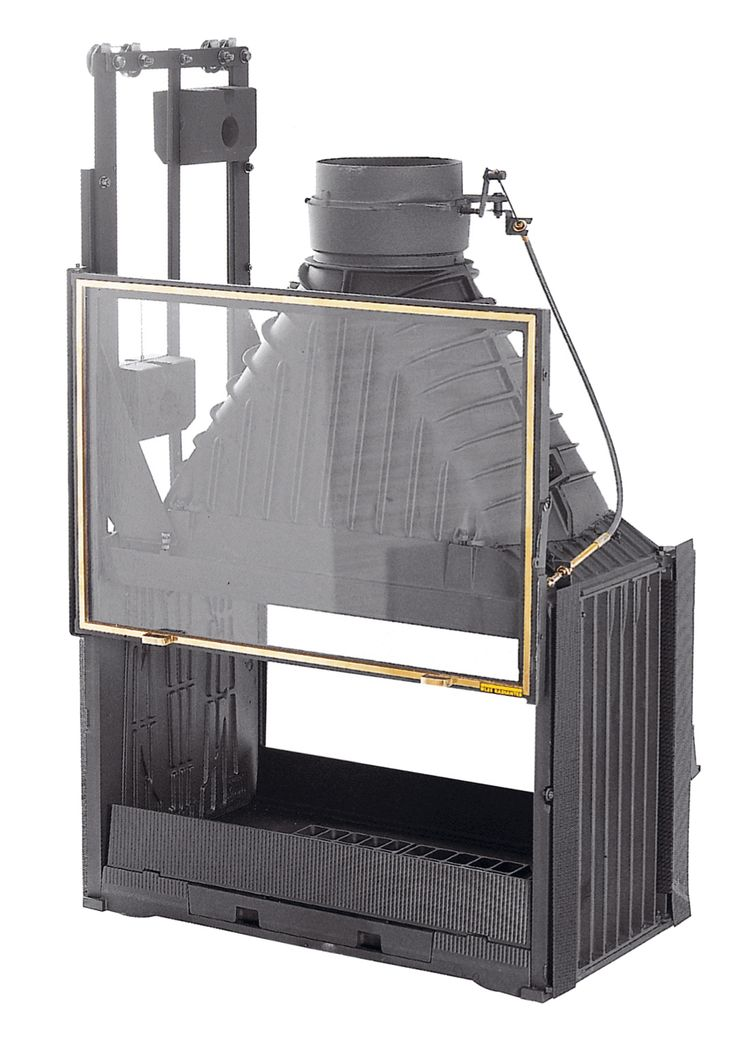 12 best images about iron metal past present on for Double sided open fireplace