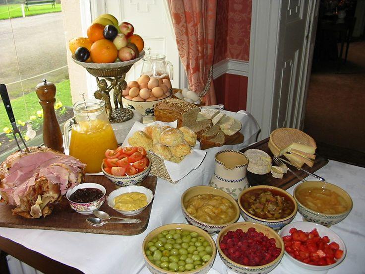 Longueville House Breakfast Buffet