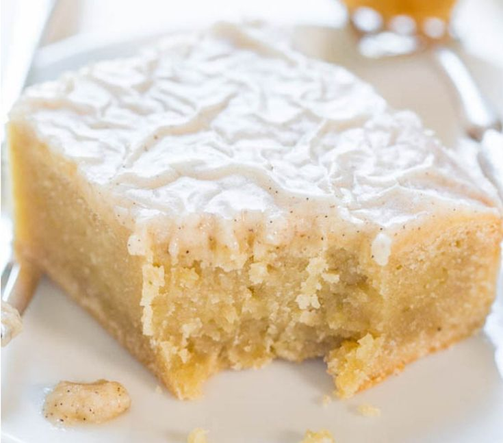Fudgy Banana Bars With Vanilla Bean Browned Butter Glaze (maybe make with maple glaze instead?)
