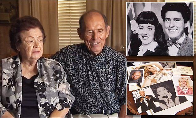 Couple gets well wishes from celebrities for 70th anniversary present