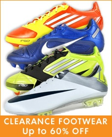 Clearance Footwear up to 60% OFF