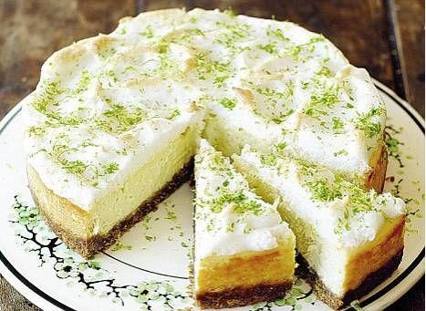 New York Cheesecake (limoen) recept | Smulweb.nl