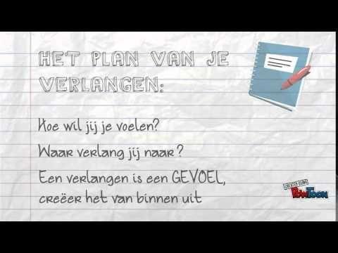 Boek Het plan van verlangen -  Geeke Booij Filmpje YouTube
