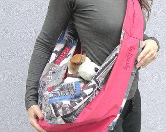 Dog Carrier PDF Sewing Pattern Tutorial Small Dog por PupPanache