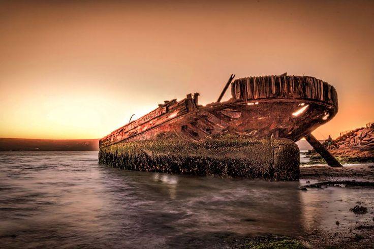 Langebaan Lagoon Shipwreck