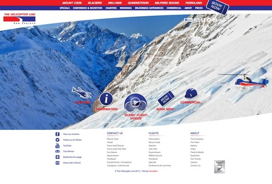New Zealand's leading helicopter operating company.  http://www.helicopter.co.nz/