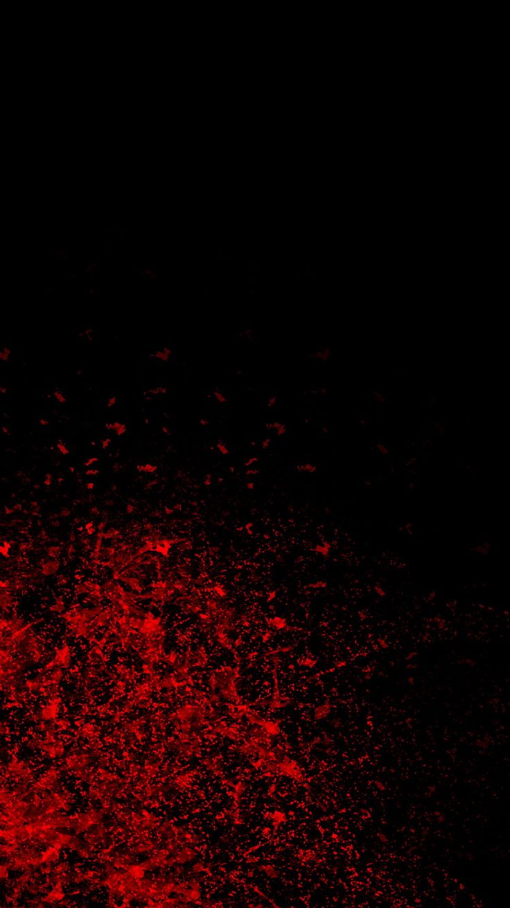 Wallpaper iphone black red - Red Blood Splash Iphone 6 Wallpaper