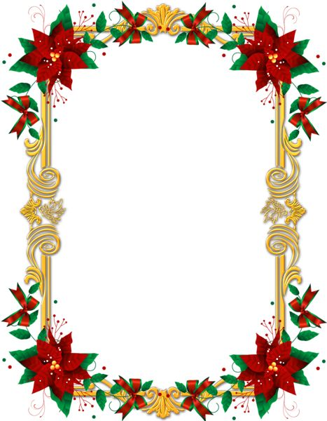 17 Best images about Christmas Frames on Pinterest | Clip art ...