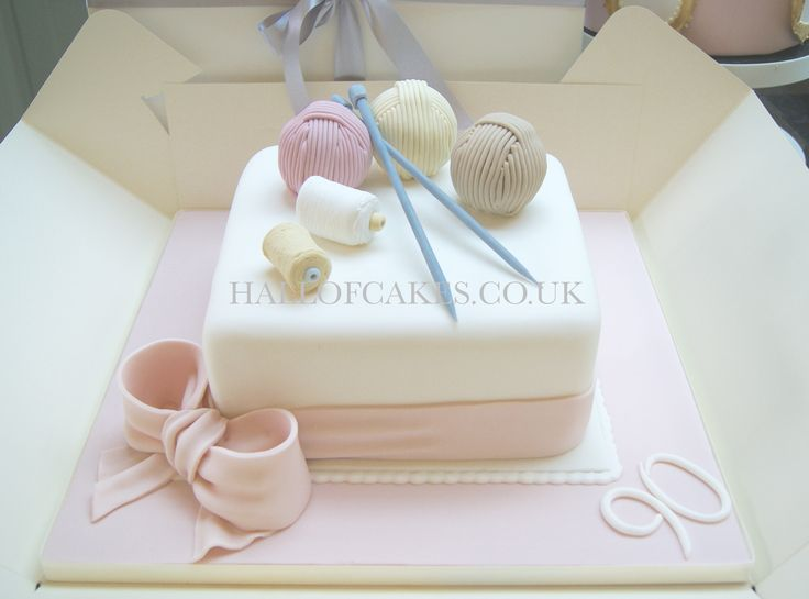 Knitting Cakes Images : Best knitting cakes images cake