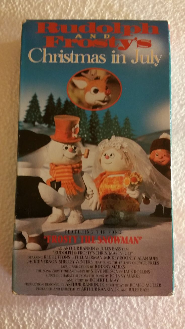 Rudolph And Frostys Christmas In July.Rudolph And Frosty S Christmas In July Rankin Bass Vhs In