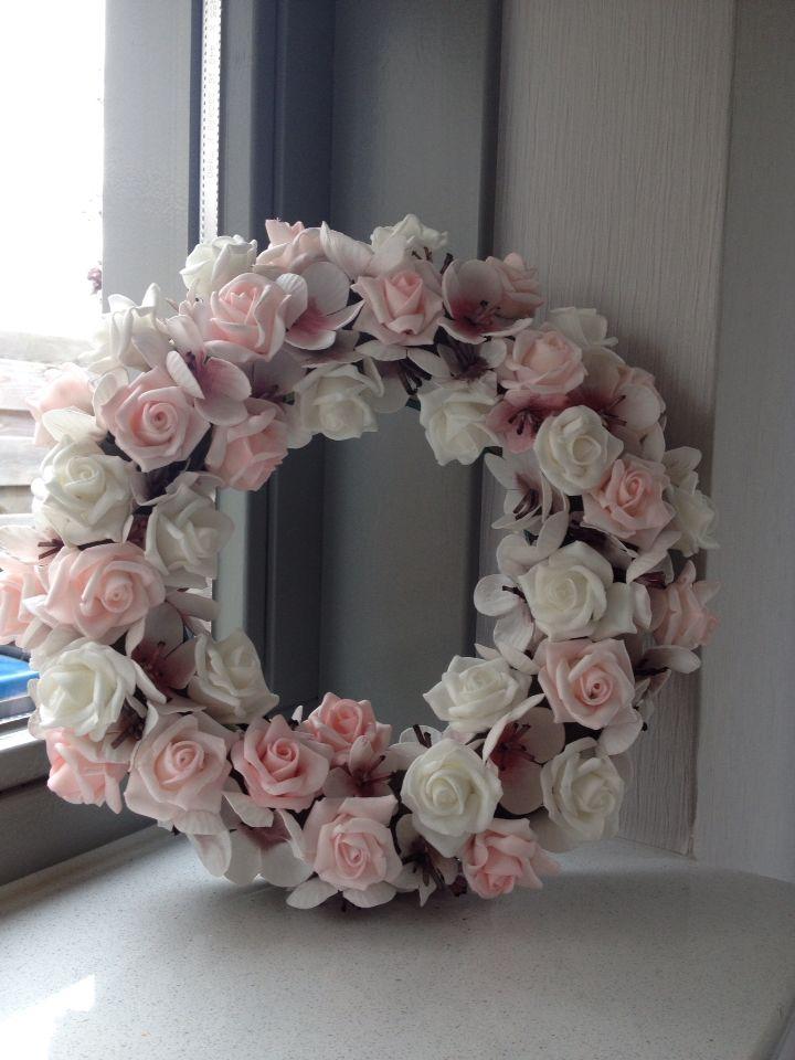 Oase krans en roosjes en andere bloemetjes Alles bij de action