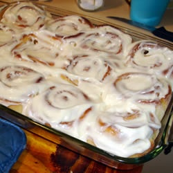 Clone of a Cinnabon (liked this picture better). Just started a batch ...