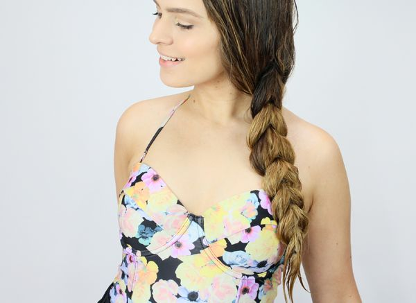 Healthy And Chic Pool Hairstyles and DIY products that prevent chlorine damage.