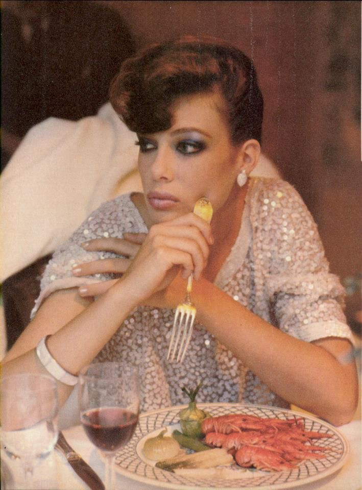 Kelly Le Brock photographed by Denis Piel for Vogue, October 1980.
