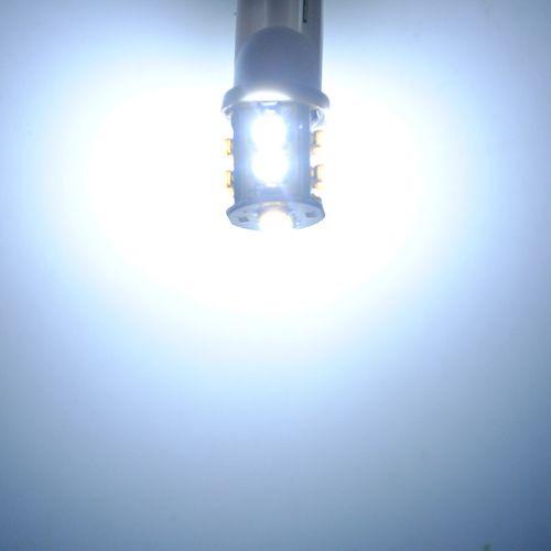 T10 0.8W 55LM 10x3020 SMD LED Car White Light Bulb