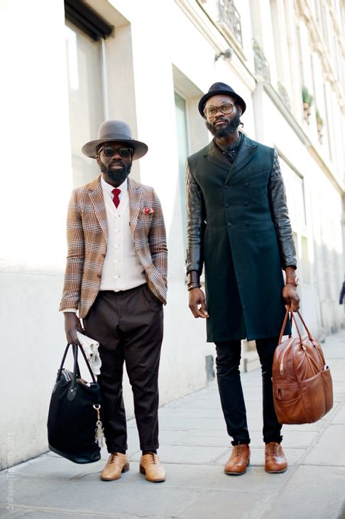 STREET STYLE. How cool is this?