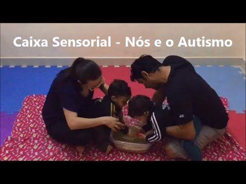 Nós e o Autismo: Usando a caixa sensorial com as crianças