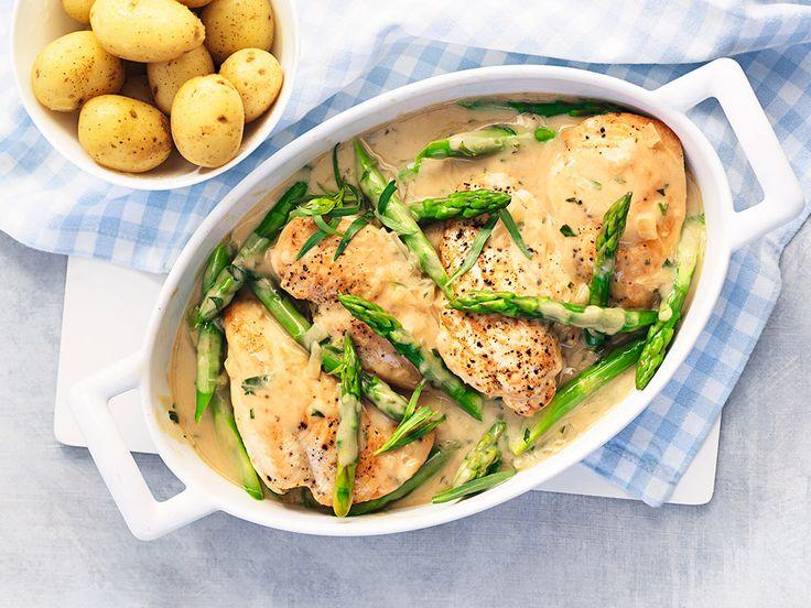 Mättande och kalorisnål kycklinggryta. Den som vill skippar potatisen.