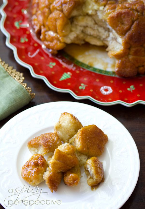 """Drunken Monkey"""" Bread from A Spicy Perspective."""