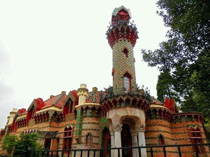 El Capricho de Gaudi,  Comillas