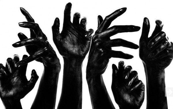 Philosophisches & Literarisches SehLoft: Black: Heads, hands
