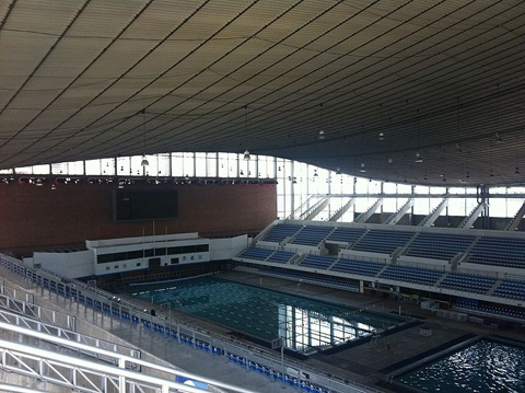 Mexico 1968 Olympic Pool, refurbished in 2009  Olympic Pools: Where Are They Now? via Swimming World Magazine