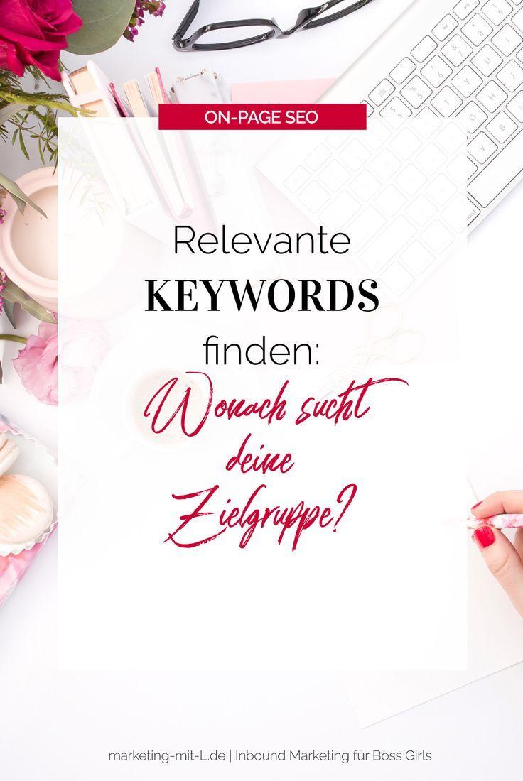 Relevante Keywords finden: Was sucht Ihr Publikum?
