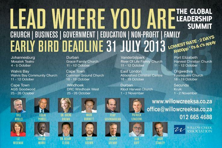 Early bird deadline 31 July advert