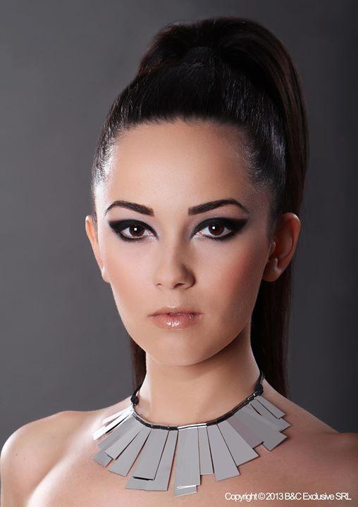 Machiaj realizat la sediul Beauty & Color. Make-up & Hair: Amalia Bot; Fotograf: Andreea Leonte; Model: Alexandra Moldovan.