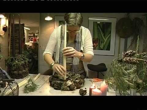 Elisabeth Bønløkke giver hvert år gode råd omkring juledekorationer her er hendes 3 indsalg i november 2008 som sendes på TVAarhus produceret af Jack Fridthjof.