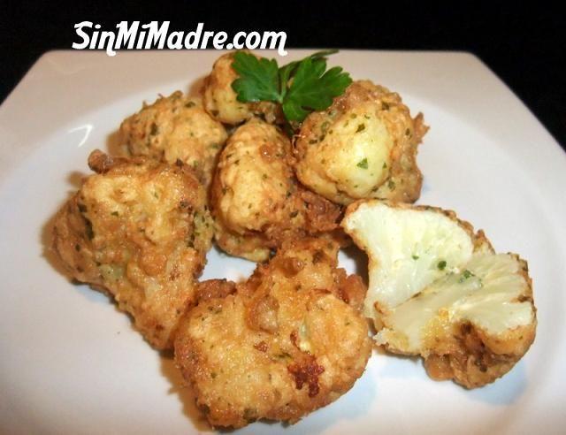 fritos de coliflor: Recetas Primero Plato, Recetas Verdura, En Recetas Primero