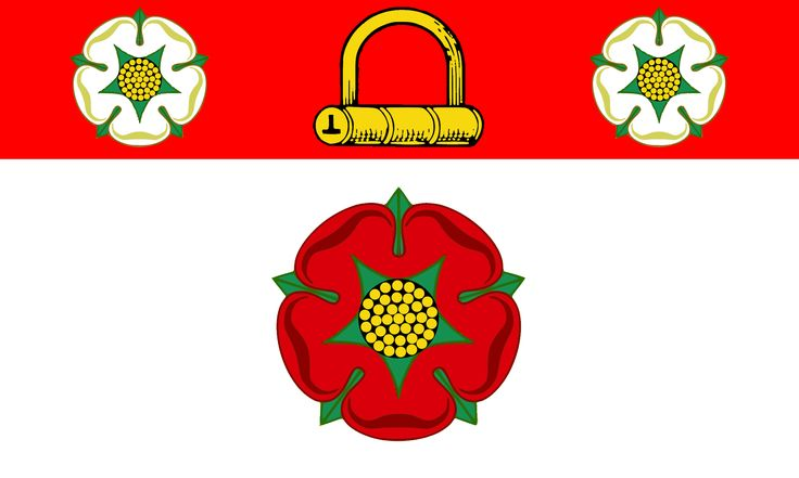 County Flag of Northamptonshire