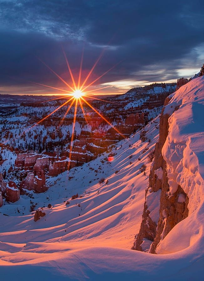 Winter Sunrise | colour-my-world.tumblr.com