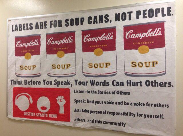 Labels Bulletin Board