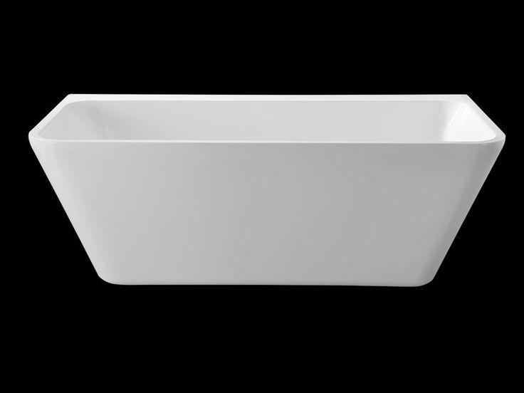 Bathroom+ Back To Wall Bath 1700mm Pure Acrylic