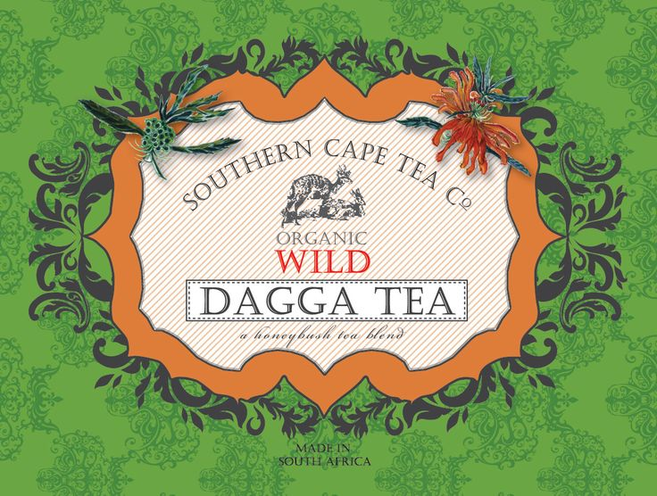 The Southern Cape Tea Co packaging