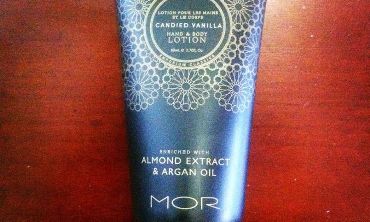 Check out our review on MOR's Candied Vanilla Hand & Body Lotion.  http://www.outback-revue.com/mor-candied-vanilla-hand-body-lotion-product-review/