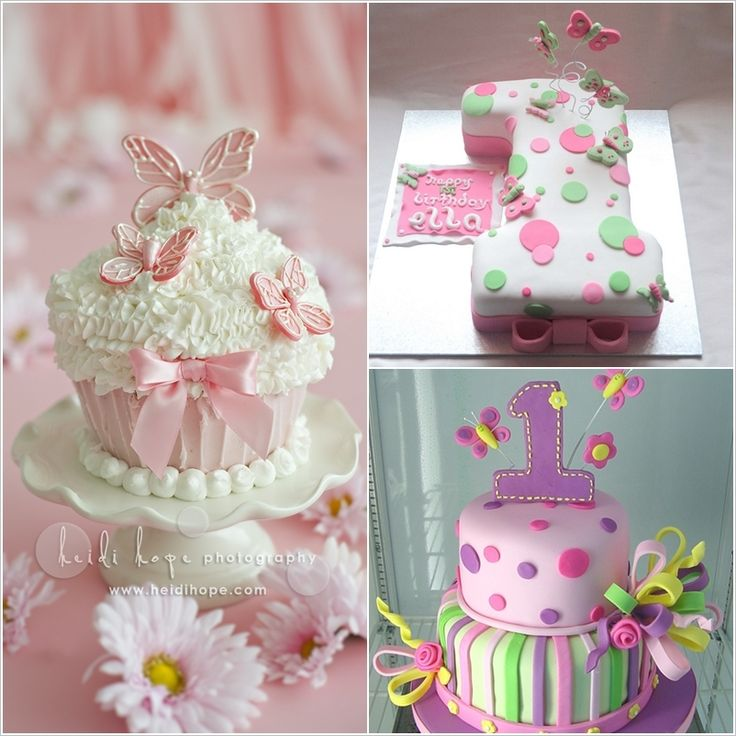 Cake Ideas First Birthday Girl : 1684 best images about Kids Cakes on Pinterest Birthday ...