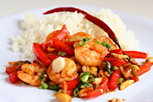 kung pao shrimp   Good to Eat   Pinterest