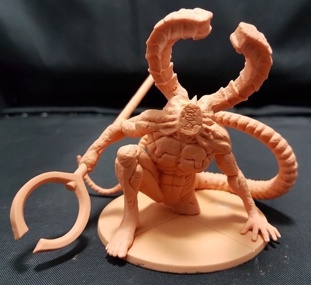 Titanite Demon 3D Sample Prior to Tooling Sample...and yes thats a 75mm base!