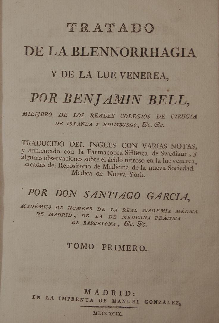 Blenorragia 1799 #lagalatea www.lagalatea.es