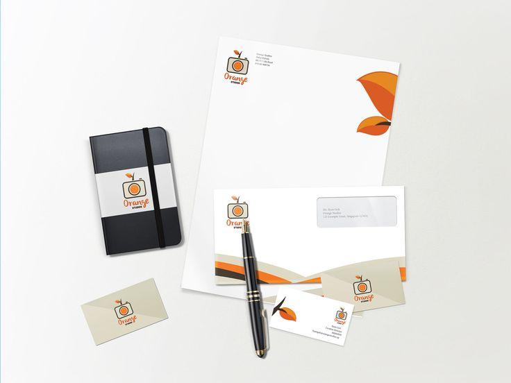 Logo Design & Stationery Design for Orange Studios