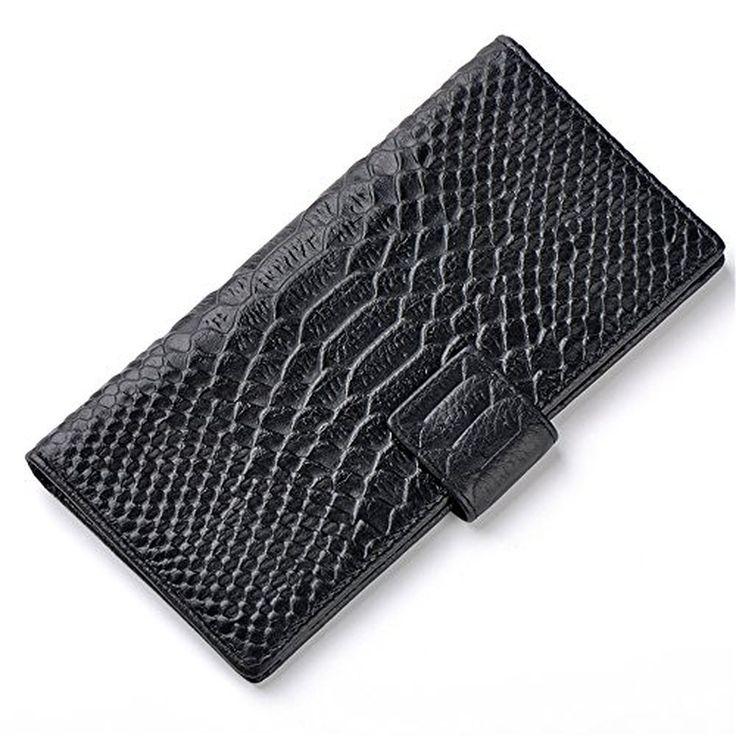 BEMAGSA Women's Leather Wristlet Wallet(PL-691)
