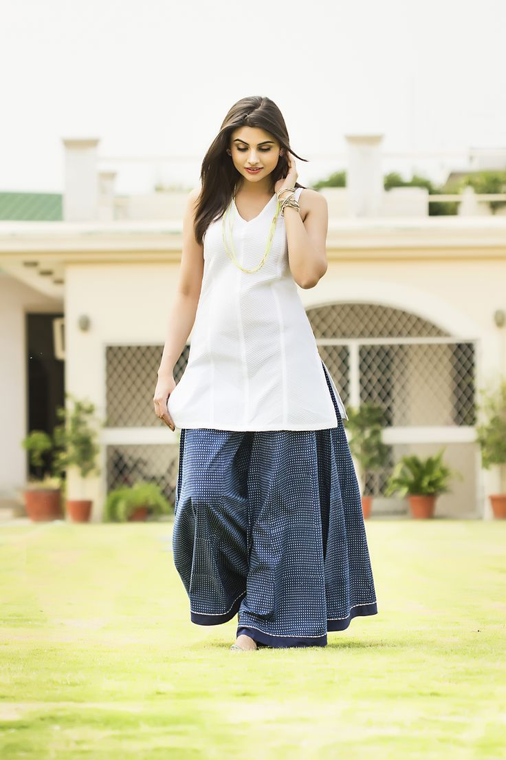 #whites and #blues - #fabindia #summer_florals